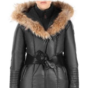 RUDSAK belted down jacket